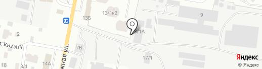 МедиаСтрой-ХХI на карте Якутска
