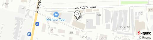Добрый на карте Якутска
