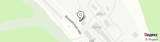 БК-Чаран на карте Якутска