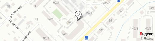 Логово Барта на карте Якутска