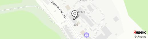 Связь-спорт на карте Якутска
