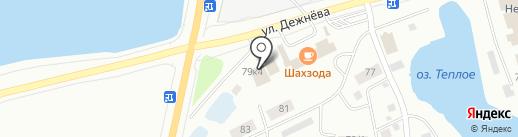 Пивная лавка на карте Якутска