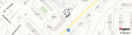 Аптека 36 на карте Якутска