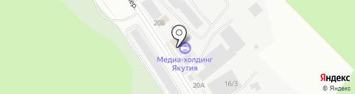 Гелиос на карте Якутска