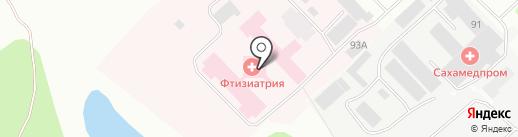 Банкомат, Банк ВТБ 24, ПАО на карте Якутска