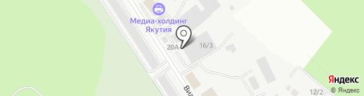 Абсолют на карте Якутска