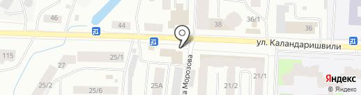 Киоск по продаже шаурмы на карте Якутска