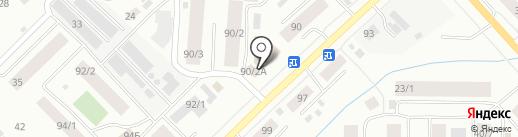 Прибой на карте Якутска