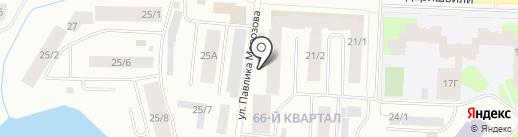 Даймонд Аква на карте Якутска