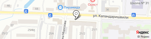 Отличные Наличные на карте Якутска