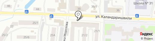 Художественная мастерская Юрия Ксенофонтова на карте Якутска