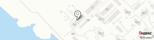 АвтоГрев на карте Якутска