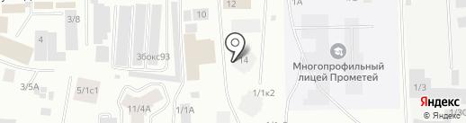 EXTRA+ на карте Якутска