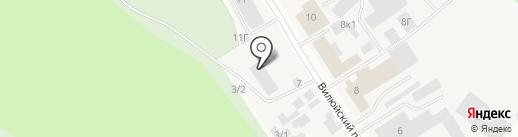 Якутрембыттехника на карте Якутска