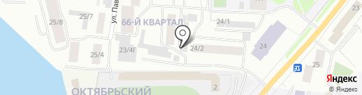 Аква Лайт на карте Якутска