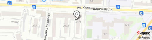 Университетское, ТСЖ на карте Якутска