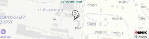Сахабилдинг на карте Якутска