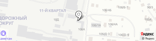 Служба заказа автокрана на карте Якутска