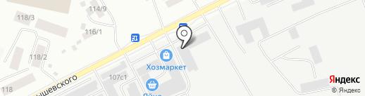 СААП на карте Якутска