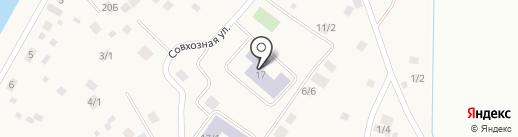 Средняя общеобразовательная школа №12 на карте Пригородного