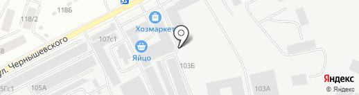 Уран на карте Якутска
