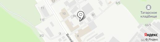 Торгово-монтажная фирма на карте Якутска