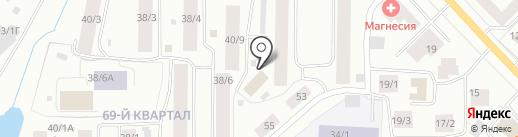 Натали на карте Якутска