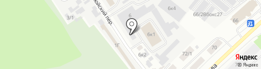 Норд-Мастер на карте Якутска