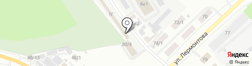 Амида на карте Якутска