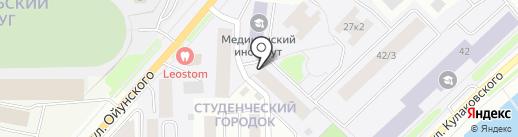 Участковый пункт полиции на карте Якутска