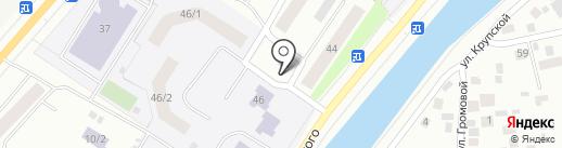 Киоск по ремонту обуви на карте Якутска