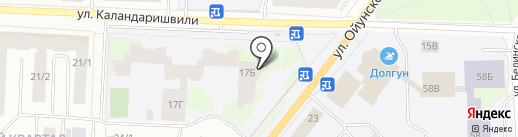 Студия Романа Пестерева на карте Якутска