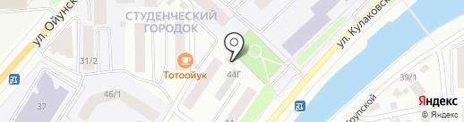 Онлайн на карте Якутска