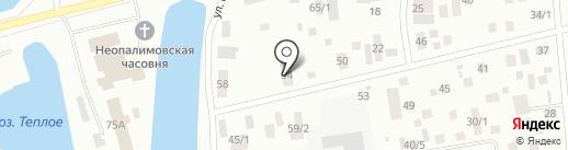 СахаКомпозит на карте Якутска