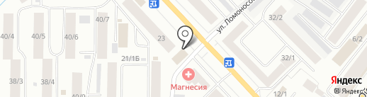 Sebastian Maro на карте Якутска