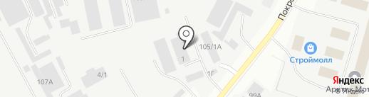 Тояма на карте Якутска