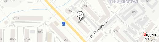 Анализы+ на карте Якутска