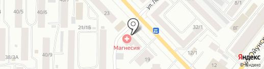 ЯСПК-Риэлти на карте Якутска