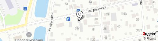 Workroom на карте Якутска
