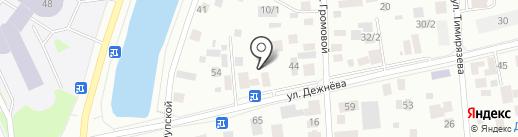 Елена на карте Якутска