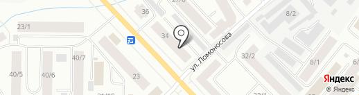 Бемби на карте Якутска