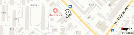 Грузчиков Сервис на карте Якутска