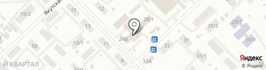 Магазин на карте Якутска
