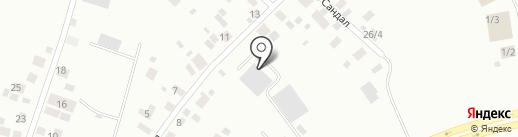 АвтоСпецЛогистик на карте Якутска