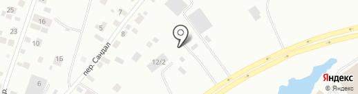Вся фанера на карте Якутска