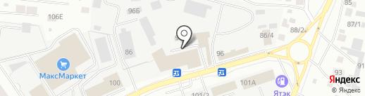 Оптовая база на карте Якутска
