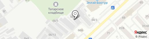 Служба ремонта электродвигателей на карте Якутска