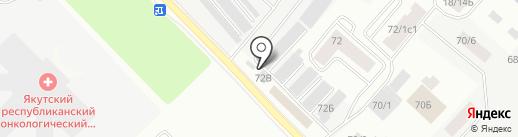 Шашлычок на карте Якутска
