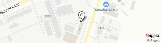 5 элемент на карте Якутска