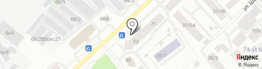 ДСК-Проект на карте Якутска